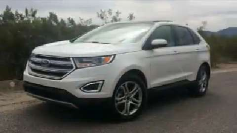 Detroit auto critic Payne reviews the new Ford Edge.