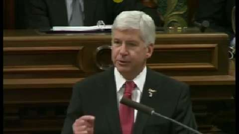 Excerpts from Gov. Snyder's remarks on Flint
