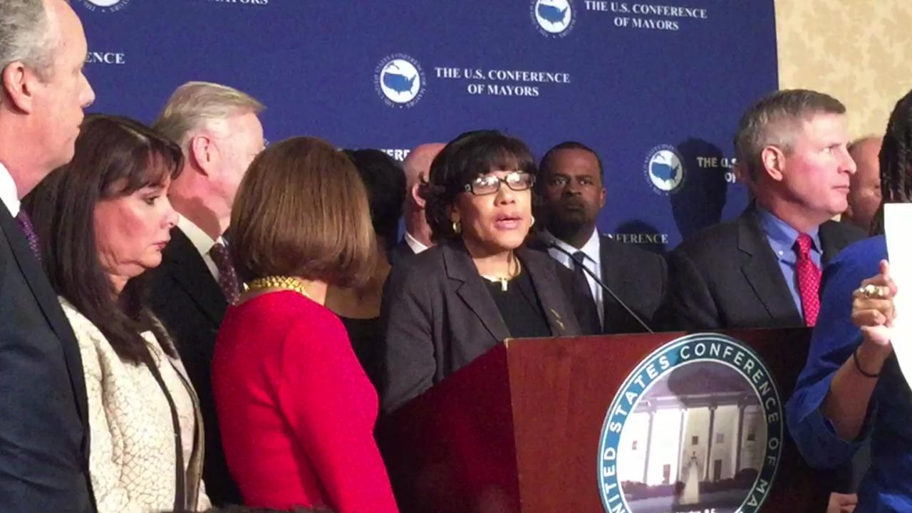 Flint Mayor Karen Weaver on assistance for her city