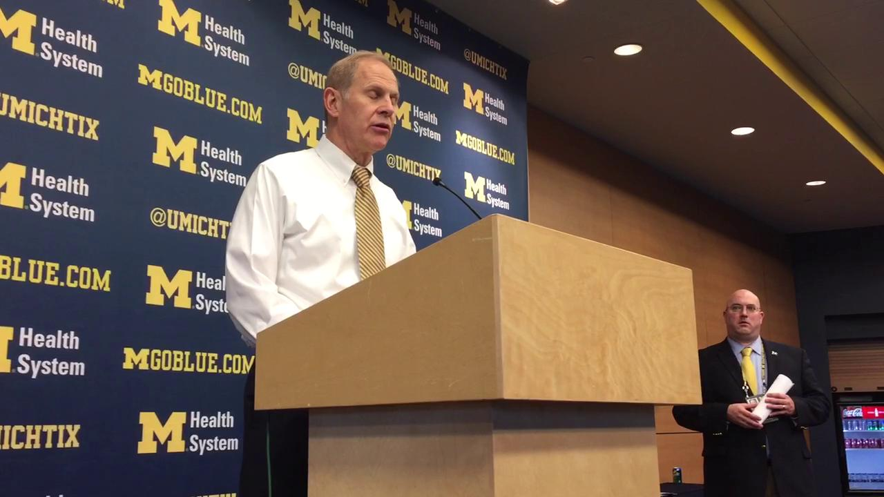 UM's John Beilein on loss to MSU