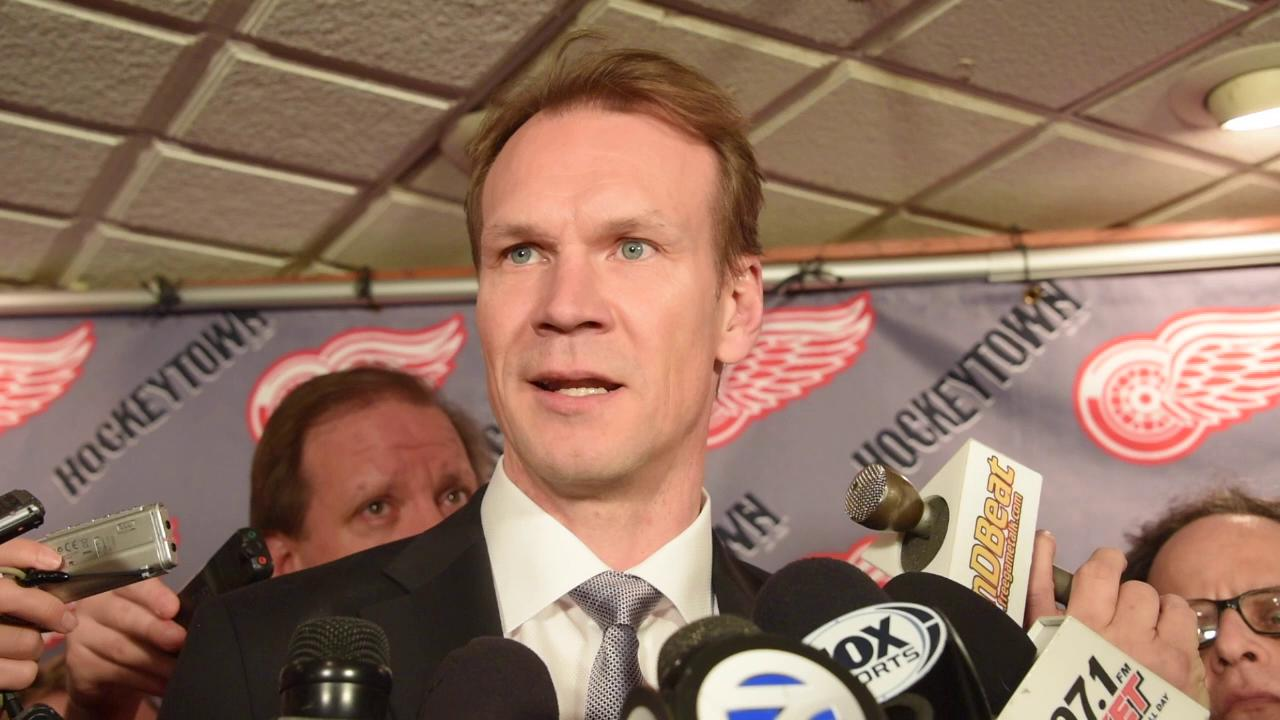 Hall of Famer Nicklas Lidstrom talks about his time with the Red Wings