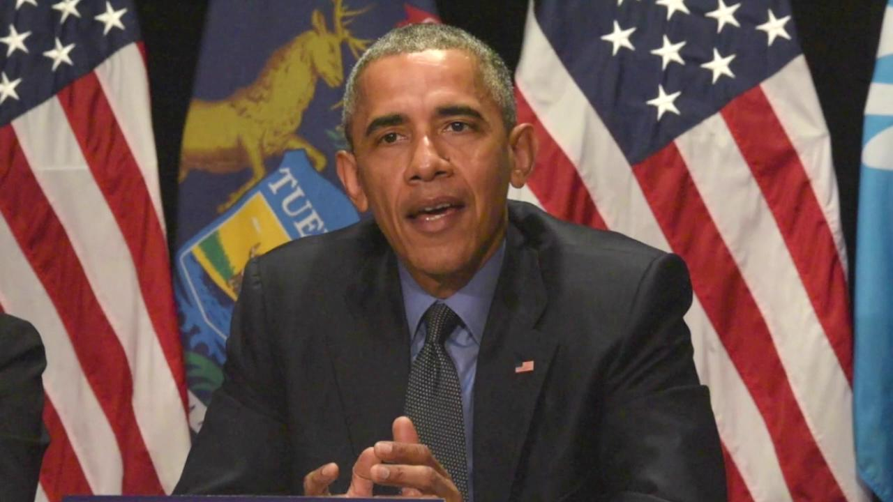 President Obama's proposals on handling Flint water