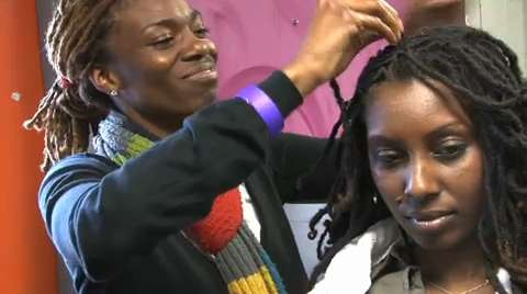 """Naturally Flyy Detroit is a women's natural hair meetup that encourages African-American women to ditch their straighteners and weaves and """"rock their hair natural."""""""