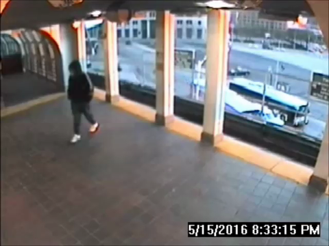People Mover tragedy surveillance video