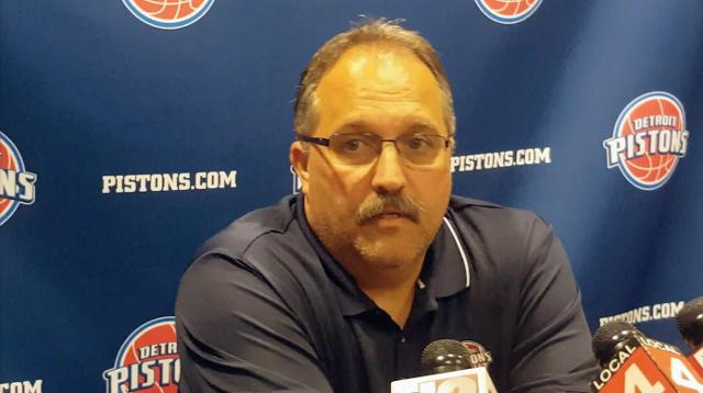 Van Gundy on Pistons' draft prospects