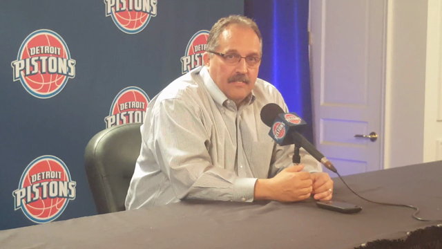 Pistons coach Stan Van Gundy on top pick