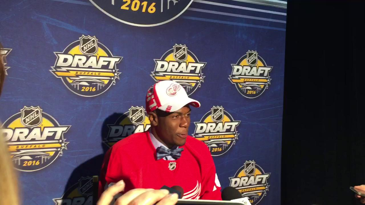 Red Wings draft pick Givani Smith