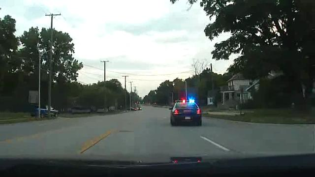 Oakland County Sheriff car chase