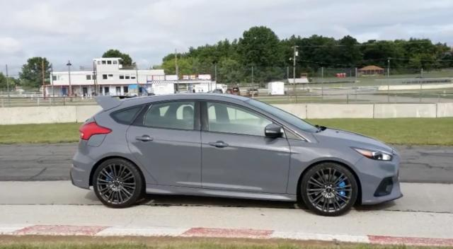 Henry Payne goes 0 to 60 in the Ford Focus RS