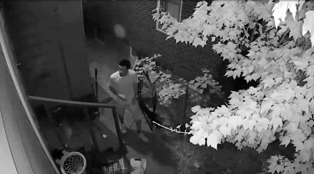 Surveillance video of  person of interest in Detroit homicide