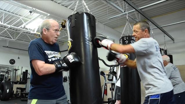 Boxing with Parkinson's