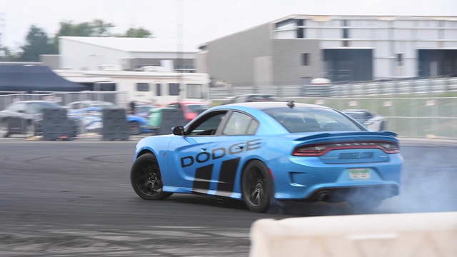 Take a spin in a Hellcat!