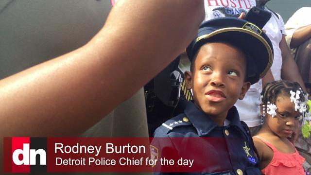 Detroit police have new chief, even if just for a day