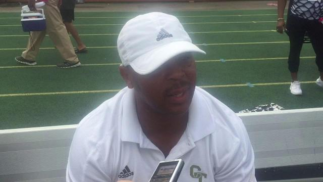 Cass Tech coach Thomas Wilcher