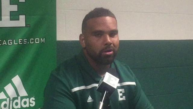 EMU's Mike Brown talks about the mood on defense