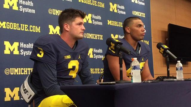 UM QB Wilton Speight on scrambling