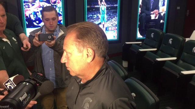 MSU coach Tom Izzo