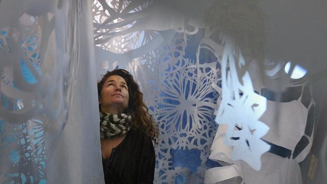 NYC artist Caledonia Curry on her new ethereal work
