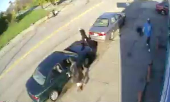 Surveillance video of  carjacking suspect