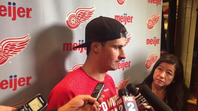 Larkin on his big night