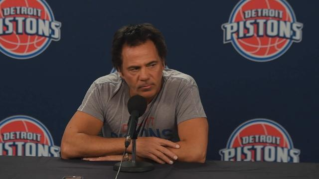 Pistons owner Tom Gores discusses possible move downtown