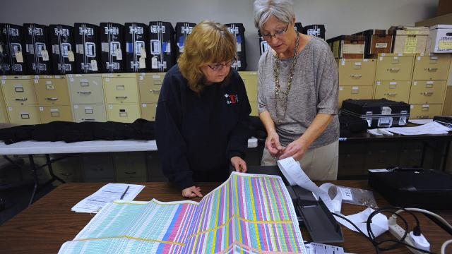 Waterford Clerk tests accuracy of voting machines