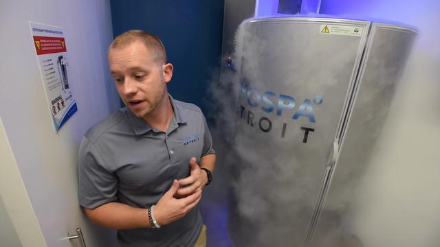 Cold therapy at Cryospa Detroit