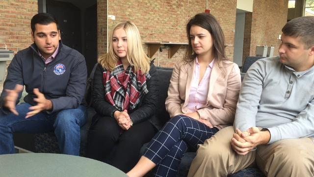 Millennial voters speak out on the election