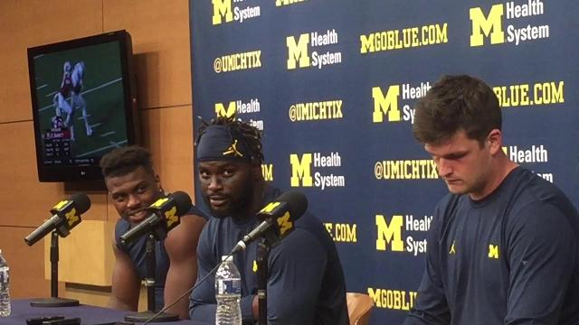 UM RB De'Veon Smith on MSU