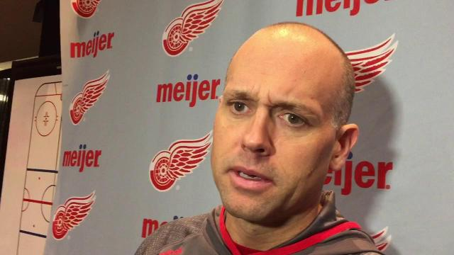 Blashill: Red Wings are motivated