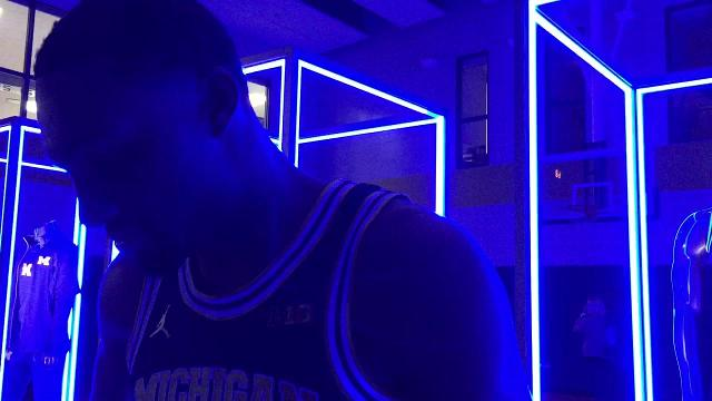 UM's Zak Irvin on new Jumpman jerseys