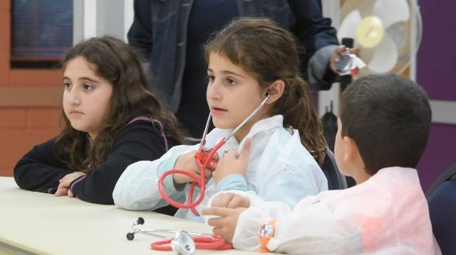 Tomorrow's doctors have fun at the Little Medical School