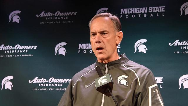 Dantonio on preparing for rivalry game with Michigan