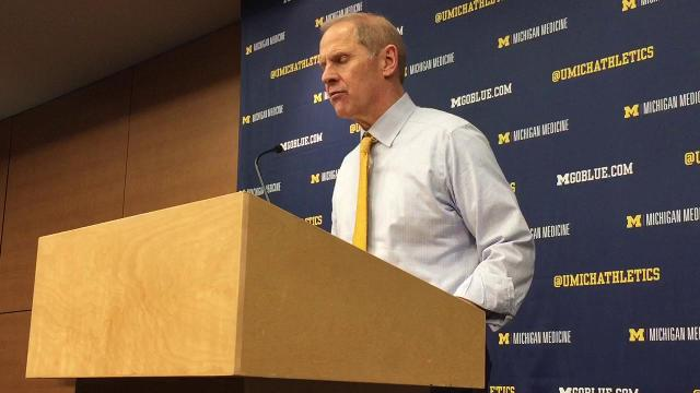 UM's John Beilein on win over Texas