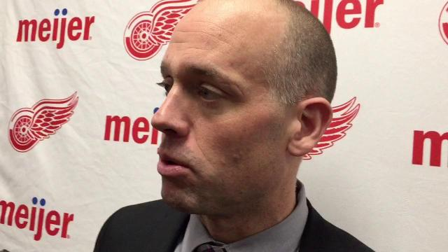Jeff Blashill on the Wings' shootout success