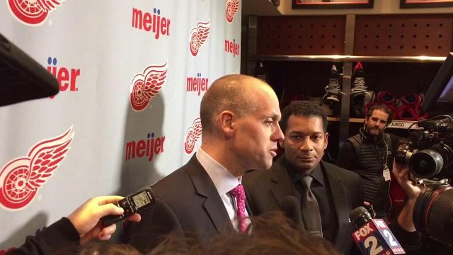 Jeff Blashill on the goaltending change