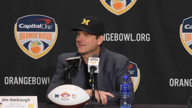 Jim Harbaugh on Don Brown