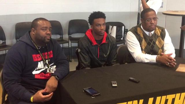 Ambry Thomas commitment news conference
