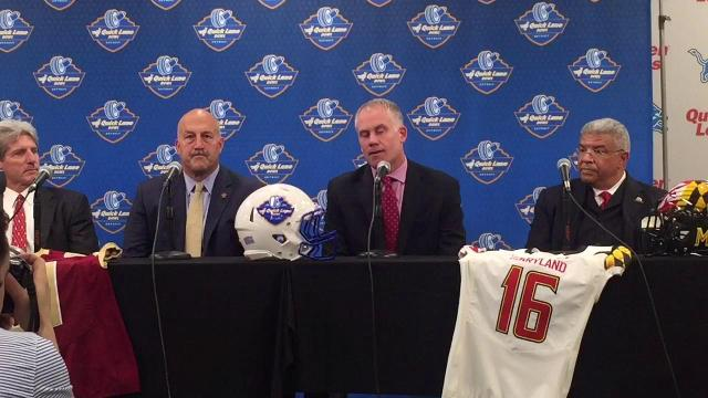 D.J. Durkin on playing in Quick Lane Bowl