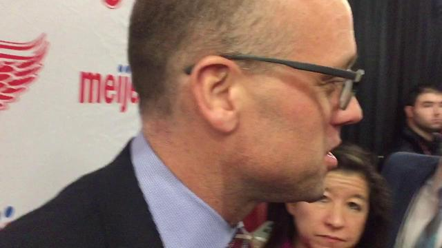 Coach Jeff Blashill on Red Wings' sense of urgency