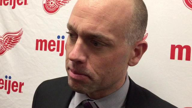Coach Jeff Blashill on the comeback win in Winnipeg
