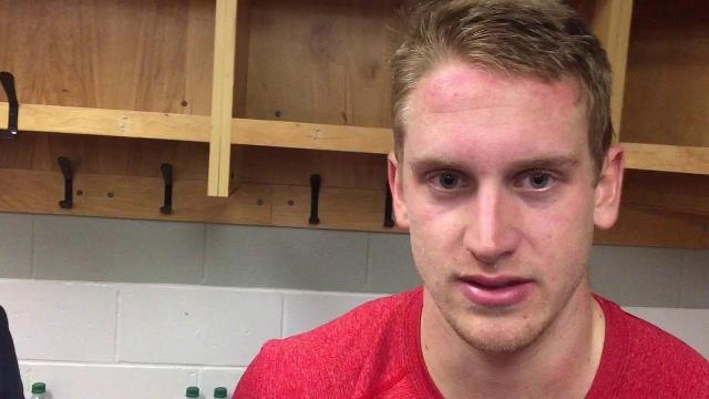 Anthony Mantha on the Red Wings' effort in Ottawa