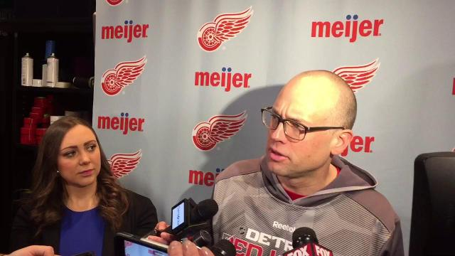 Jeff Blashill: Good defense,  goaltending
