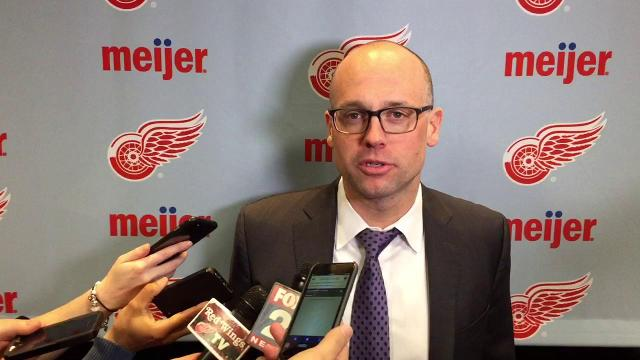 Blashill's message after first period against Bruins