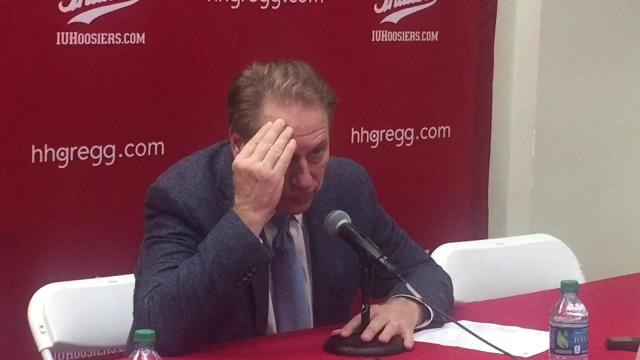 Tom Izzo on MSU's loss at Indiana