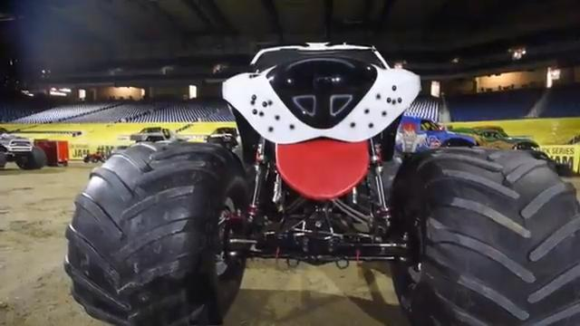 Monster Jam takes over the dirt field of Ford Field Saturday, Jan. 28,  including the legendary monster truck Grave Digger and its driver Charlie Pauken.  The 25th anniversary show begins  at 7 p.m.