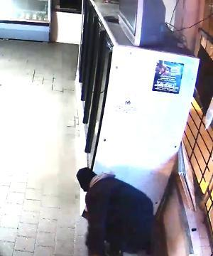 Suspect seen breaking into an east side business on Jan. 6.
