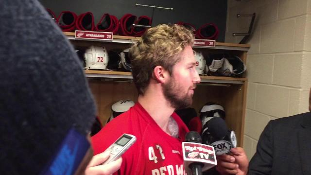 Darren Helm: Easing back