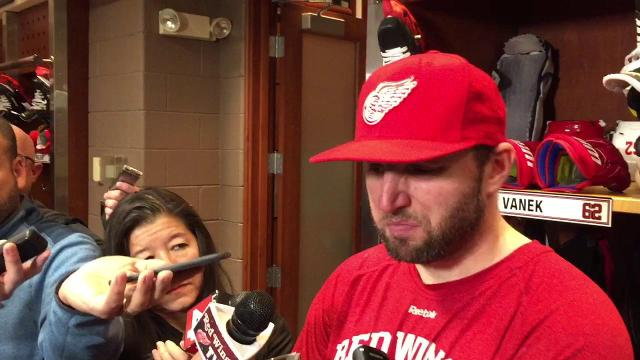 Thomas Vanek on back-to-back victories