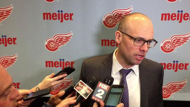 Jeff Blashill on the Red Wings' comeback against the Bruins